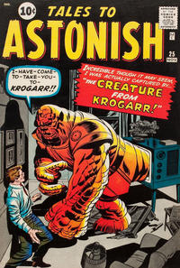 Cover Thumbnail for Tales to Astonish (Marvel, 1959 series) #25