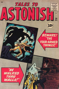 Cover Thumbnail for Tales to Astonish (Marvel, 1959 series) #26