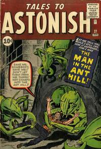 Cover Thumbnail for Tales to Astonish (Marvel, 1959 series) #27 [Regular Edition]