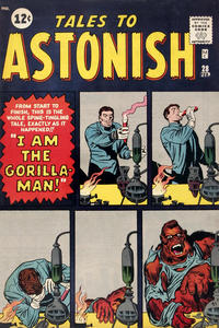 Cover Thumbnail for Tales to Astonish (Marvel, 1959 series) #28