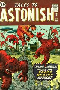 Cover Thumbnail for Tales to Astonish (Marvel, 1959 series) #29