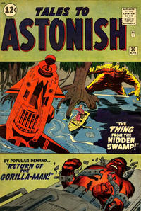 Cover Thumbnail for Tales to Astonish (Marvel, 1959 series) #30
