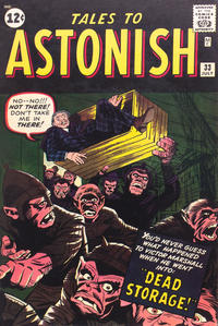 Cover Thumbnail for Tales to Astonish (Marvel, 1959 series) #33