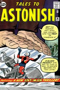Cover Thumbnail for Tales to Astonish (Marvel, 1959 series) #36 [12¢]