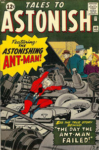 Cover Thumbnail for Tales to Astonish (Marvel, 1959 series) #40 [Regular Edition]