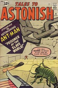 Cover Thumbnail for Tales to Astonish (Marvel, 1959 series) #41
