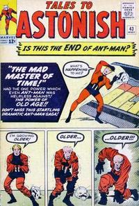 Cover Thumbnail for Tales to Astonish (Marvel, 1959 series) #43 [Regular Edition]