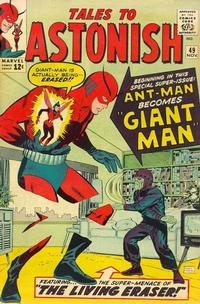 Cover Thumbnail for Tales to Astonish (Marvel, 1959 series) #49