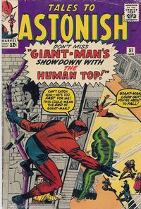 Cover Thumbnail for Tales to Astonish (Marvel, 1959 series) #51