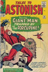 Cover Thumbnail for Tales to Astonish (Marvel, 1959 series) #53