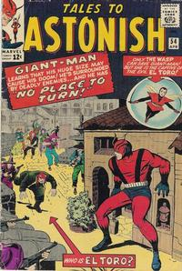 Cover Thumbnail for Tales to Astonish (Marvel, 1959 series) #54 [Regular Edition]