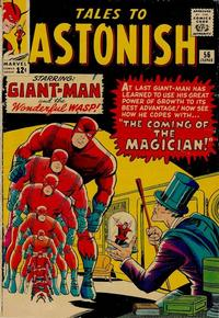Cover Thumbnail for Tales to Astonish (Marvel, 1959 series) #56 [Regular Edition]