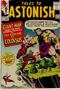 Cover Thumbnail for Tales to Astonish (Marvel, 1959 series) #58
