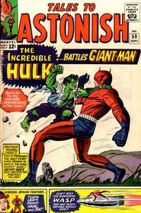 Cover Thumbnail for Tales to Astonish (Marvel, 1959 series) #59