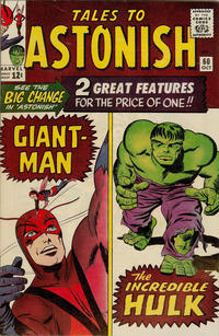 Cover Thumbnail for Tales to Astonish (Marvel, 1959 series) #60