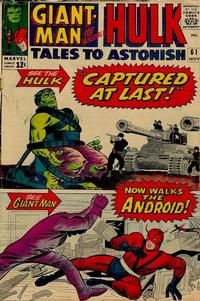 Cover Thumbnail for Tales to Astonish (Marvel, 1959 series) #61