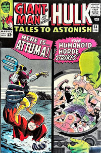 Cover Thumbnail for Tales to Astonish (Marvel, 1959 series) #64