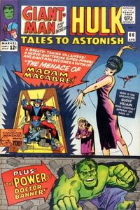 Cover Thumbnail for Tales to Astonish (Marvel, 1959 series) #66
