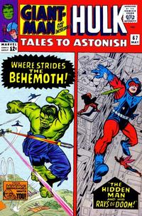 Cover Thumbnail for Tales to Astonish (Marvel, 1959 series) #67