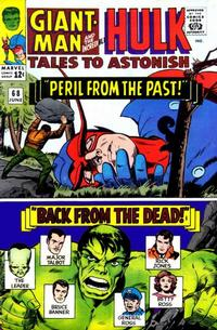 Cover Thumbnail for Tales to Astonish (Marvel, 1959 series) #68