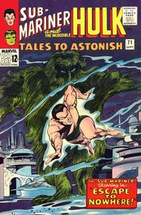 Cover for Tales to Astonish (Marvel, 1959 series) #71 [Regular Edition]