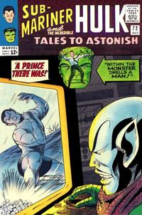 Cover Thumbnail for Tales to Astonish (Marvel, 1959 series) #72
