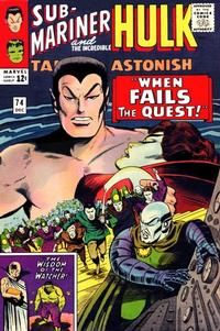 Cover Thumbnail for Tales to Astonish (Marvel, 1959 series) #74