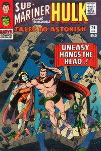 Cover Thumbnail for Tales to Astonish (Marvel, 1959 series) #76