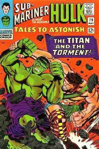 Cover Thumbnail for Tales to Astonish (Marvel, 1959 series) #79