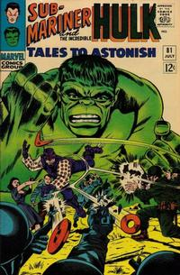 Cover Thumbnail for Tales to Astonish (Marvel, 1959 series) #81
