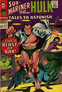 Cover Thumbnail for Tales to Astonish (Marvel, 1959 series) #84