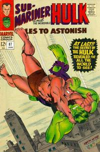 Cover Thumbnail for Tales to Astonish (Marvel, 1959 series) #87 [Regular Edition]