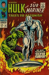 Cover Thumbnail for Tales to Astonish (Marvel, 1959 series) #93
