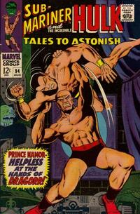 Cover Thumbnail for Tales to Astonish (Marvel, 1959 series) #94