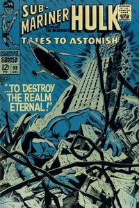 Cover Thumbnail for Tales to Astonish (Marvel, 1959 series) #98