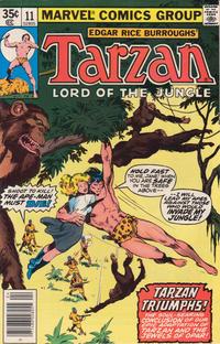 Cover Thumbnail for Tarzan (Marvel, 1977 series) #11