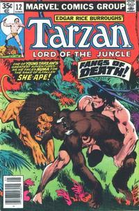 Cover Thumbnail for Tarzan (Marvel, 1977 series) #12