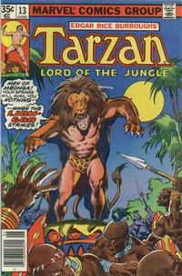 Cover Thumbnail for Tarzan (Marvel, 1977 series) #13