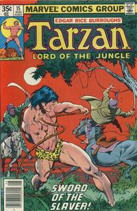 Cover for Tarzan (Marvel, 1977 series) #15