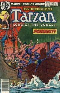 Cover for Tarzan (Marvel, 1977 series) #19