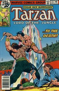 Cover Thumbnail for Tarzan (Marvel, 1977 series) #23