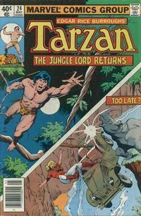 Cover Thumbnail for Tarzan (Marvel, 1977 series) #24