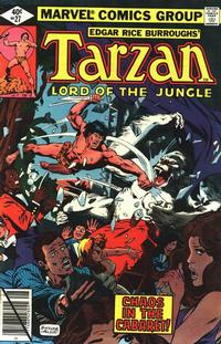 Cover Thumbnail for Tarzan (Marvel, 1977 series) #27