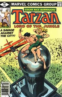 Cover Thumbnail for Tarzan (Marvel, 1977 series) #28
