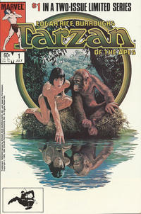 Cover Thumbnail for Tarzan of the Apes (Marvel, 1984 series) #1 [Direct]