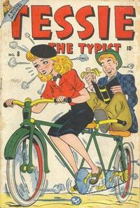 Cover Thumbnail for Tessie the Typist Comics (Marvel, 1944 series) #8