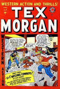 Cover Thumbnail for Tex Morgan (Marvel, 1948 series) #5