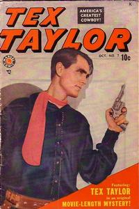 Cover Thumbnail for Tex Taylor (Marvel, 1948 series) #7