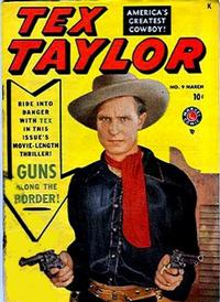 Cover Thumbnail for Tex Taylor (Marvel, 1948 series) #9