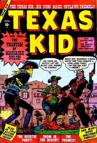Cover Thumbnail for Texas Kid (Marvel, 1951 series) #2